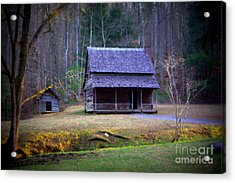 The Little House Acrylic Print