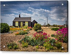 Acrylic Print featuring the photograph The Little House. by Gary Gillette