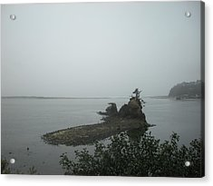 The Little Island Acrylic Print