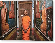 The Little Monk Acrylic Print