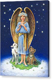 The Littlest Angel Acrylic Print