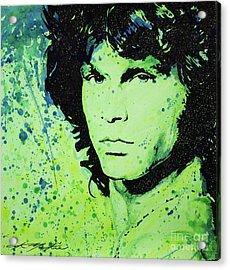 The Lizard King Acrylic Print