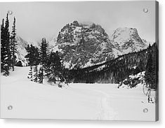 The Loch Acrylic Print by Eric Glaser
