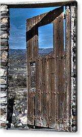 The Lockless Door Acrylic Print by Heiko Koehrer-Wagner