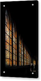 The Loco Shed Acrylic Print by motography aka Phil Clark