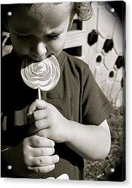 The Lollipop Acrylic Print