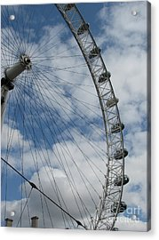 The London Eye Acrylic Print by Zori Minkova