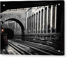 The London Underground  Acrylic Print
