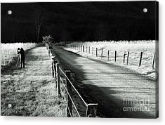 The Lone Photographer Acrylic Print