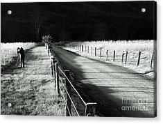 The Lone Photographer Acrylic Print by Douglas Stucky