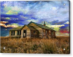 The Lonely House Acrylic Print