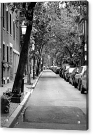 The Long And Narrow Acrylic Print by Kirt Tisdale