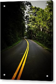 The Long And Winding Road Acrylic Print by Natasha Marco