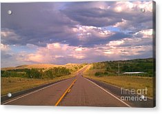 Acrylic Print featuring the photograph The Long Road Home by Chris Tarpening