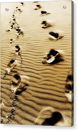 Acrylic Print featuring the photograph The Long Road To Love by Selke Boris