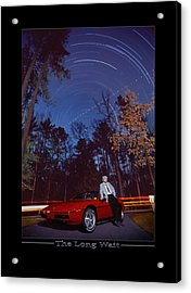 The Long Wait Acrylic Print by Mike McGlothlen