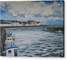 The Long Walk Galway Acrylic Print