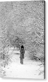 The Long Walk Home Acrylic Print by Andrew James