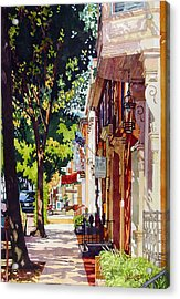 The Long Walk To Market Acrylic Print