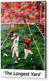 The Longest Yard Named  Acrylic Print by Mark Moore