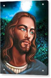 The Look Of Love 2 Acrylic Print by Karen Showell