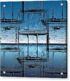 The Looking Glass Reprised Acrylic Print by Tim Allen