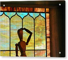 Acrylic Print featuring the photograph The Lookout by Jean Goodwin Brooks