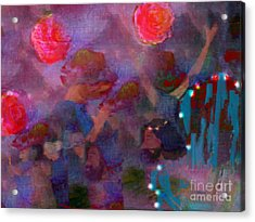 The Lord Thy God In The Midst Of Thee Is Mighty  Acrylic Print by Deborah Montana