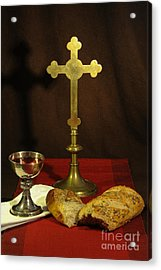 The Lord's Supper Acrylic Print by Donald Davis