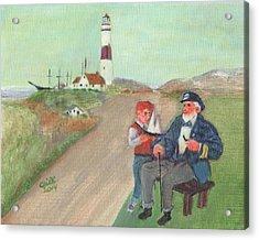 The Lore Of The Sea Acrylic Print