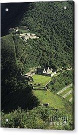 The Lost City Of Choquequirao Acrylic Print