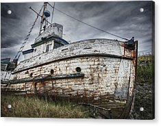 The Lost Fleet Weathering The Storm Acrylic Print
