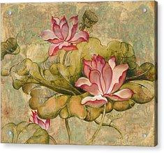 The Lotus Family Acrylic Print