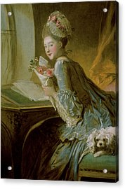 The Love Letter Acrylic Print by Jean Honore Fragonard