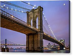 Acrylic Print featuring the photograph The Love Of Brooklyn  by Anthony Fields