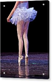 The Love Of Dance Acrylic Print by Thomas Fouch