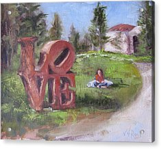 The Love Trail 2 Acrylic Print