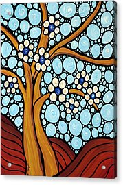 The Loving Tree Acrylic Print by Sharon Cummings