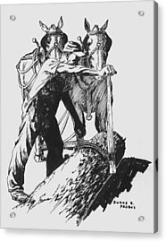The Lumberjack Acrylic Print