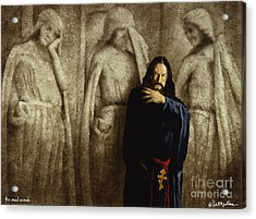The Mad Monk... Acrylic Print by Will Bullas
