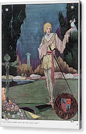 The Mad Prince Acrylic Print by British Library