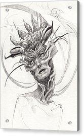 The Madame Acrylic Print by Ethan Harris