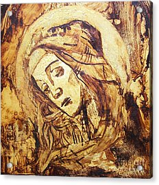 The Madonna Of Medjugorje,  Acrylic Print