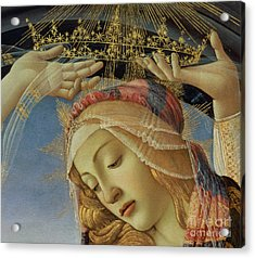 The Madonna Of The Magnificat Acrylic Print