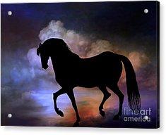 The Magic Horse..... Acrylic Print by Andrzej Szczerski