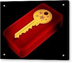 The Key To Happiness Acrylic Print