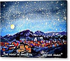 The Magic Of Santa Fe Acrylic Print