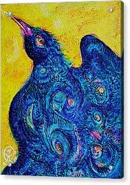 The Magical Bird Acrylic Print