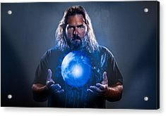 Acrylic Print featuring the photograph The Magician  by Joshua Minso