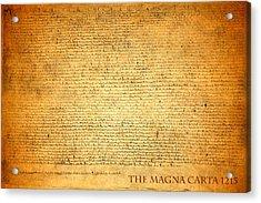 The Magna Carta 1215 Acrylic Print